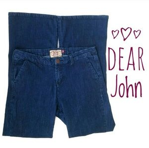 Dear John Wide Leg Trouser Jeans
